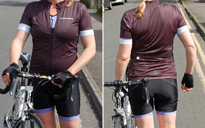 Tried and tested: Cafe Du Cycliste Fleurette jersey