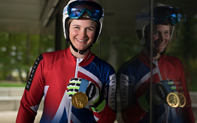 Meet Millie Knight, the skier aiming for gold at the Winter Paralympics