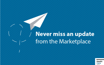 Sign up for Marketplace reminders & important info