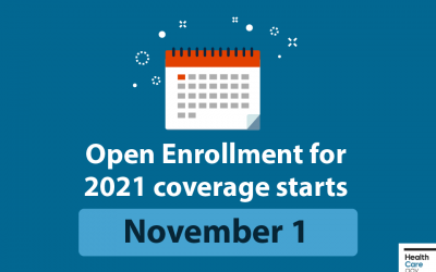 Open Enrollment is one month away!